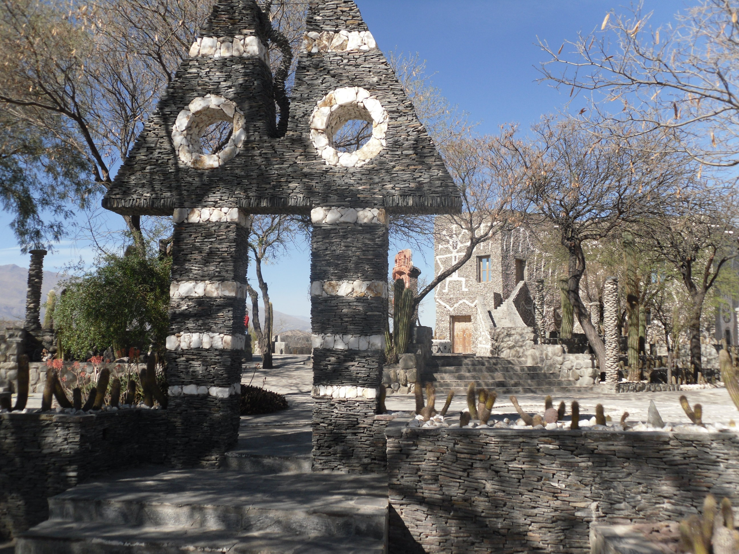 Pachamama Museum near Quilmes archaeological site, Argentina