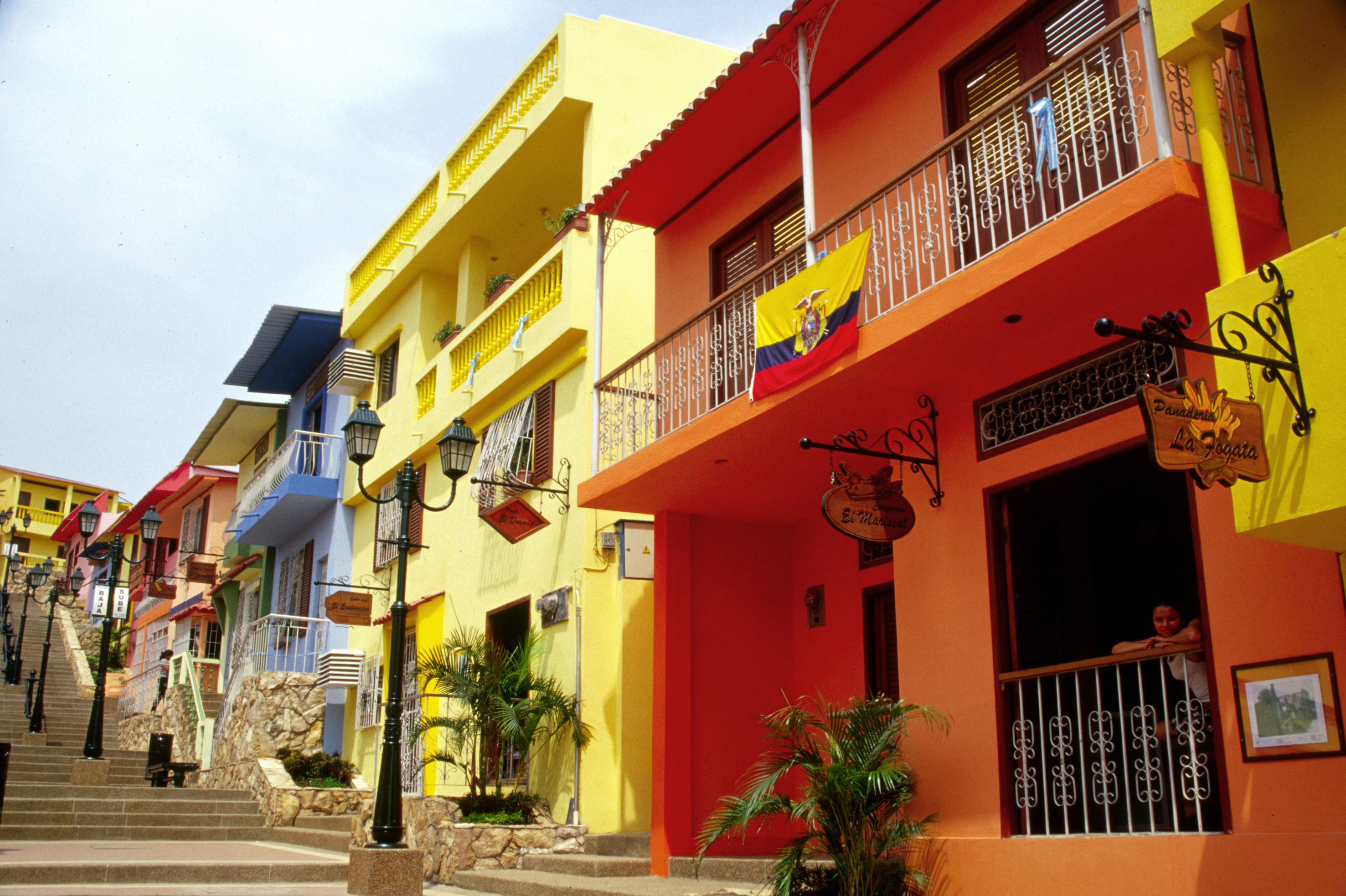 Las Penas neighborhood of Guayaquil Ecuador