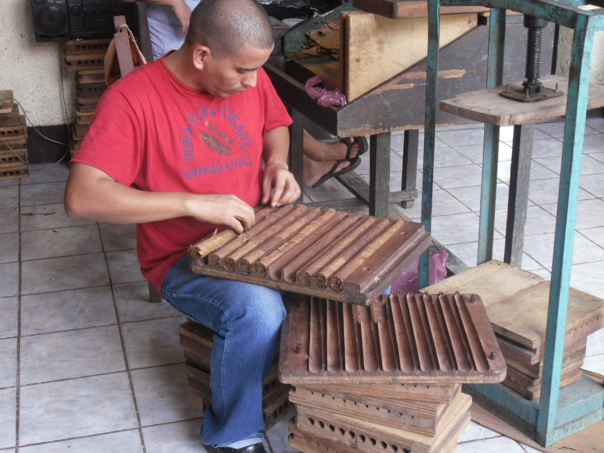 Hand rolled cigars from Granada Nicaragua