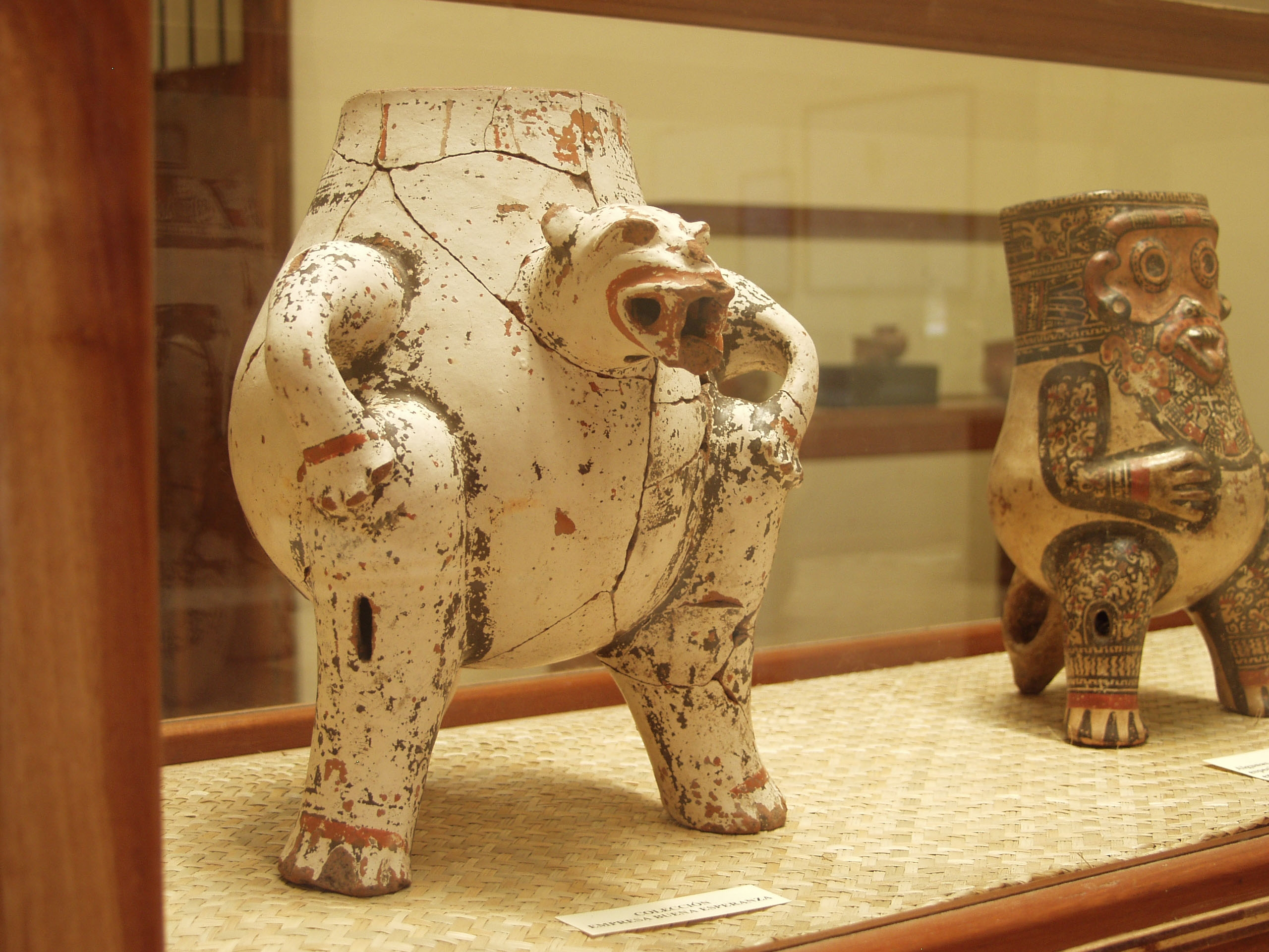 Pre-columbian artifacts from the Chorotega Museum Nicaragua