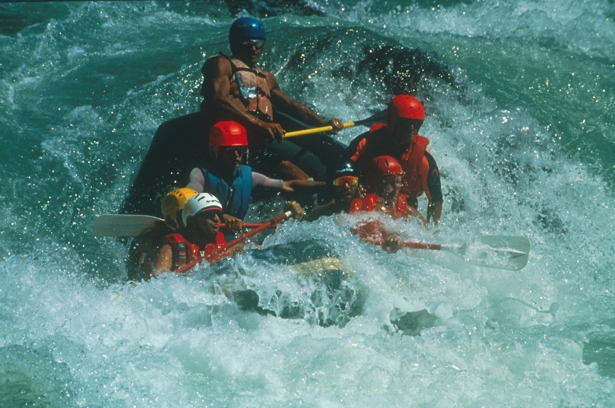 Adventure in Chile-Rafting