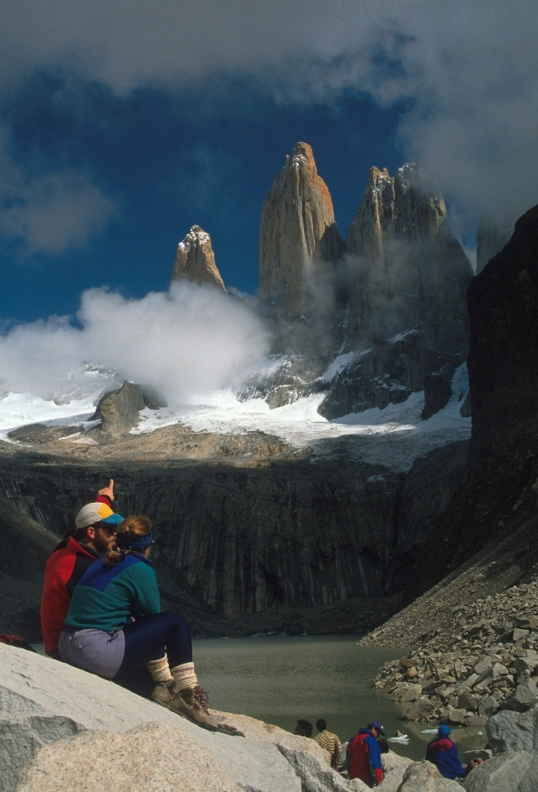 Hiking to the Towers of Paine National Park Chile