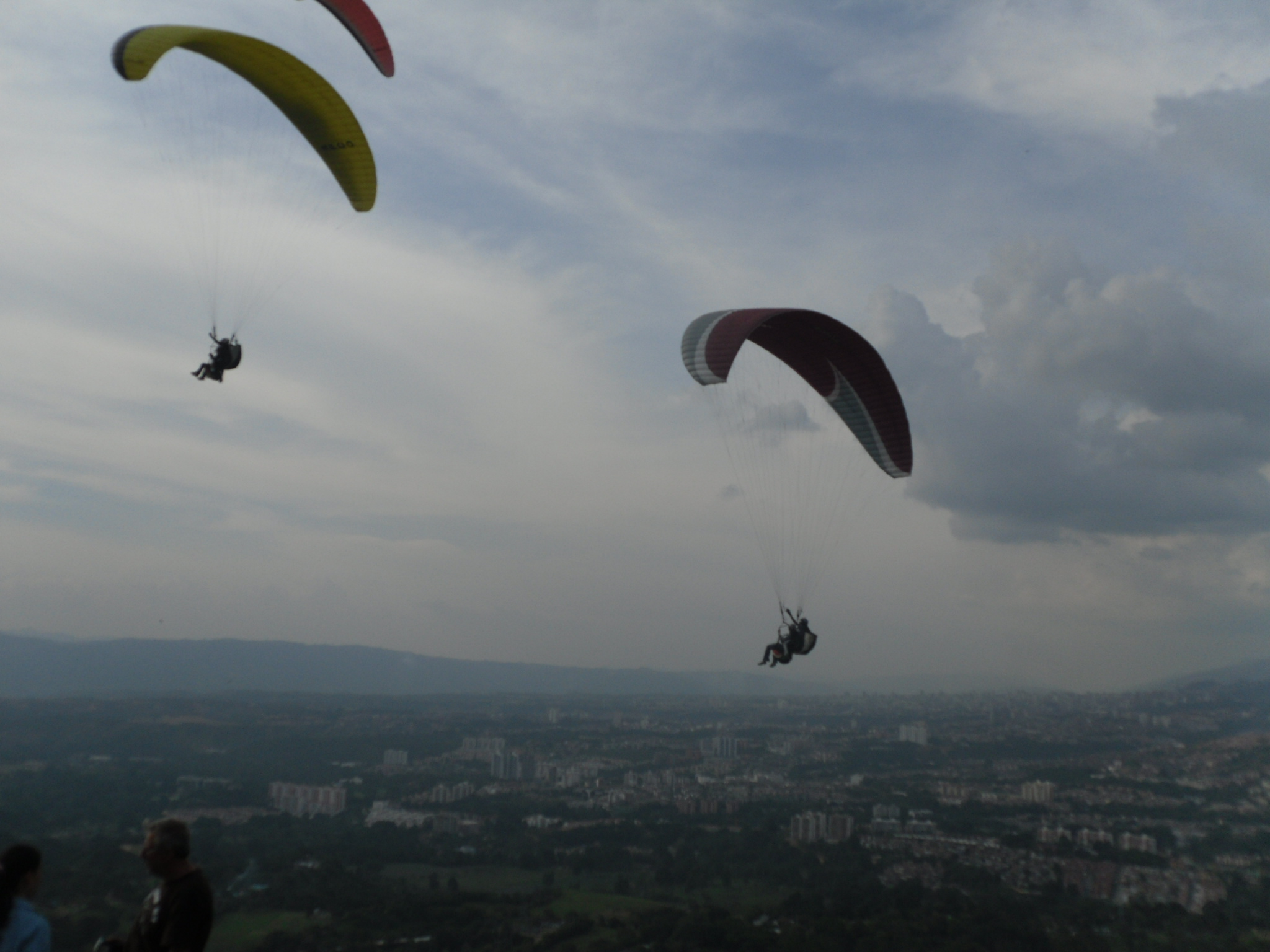 Adventure in Colombia-Paragliding near Bucaramanga